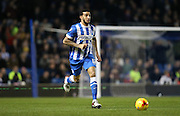 Brighton central defender, Connor Goldson (17) during the Sky Bet Championship match between Brighton and Hove Albion and Brentford at the American Express Community Stadium, Brighton and Hove, England on 5 February 2016.
