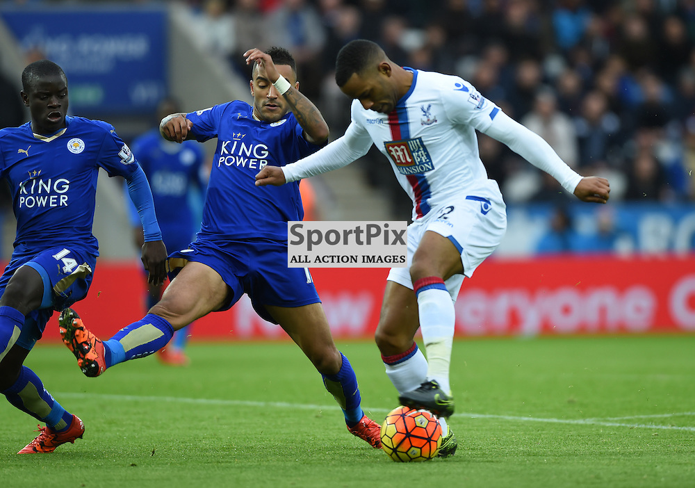 Jason Puncheon finds his way blocked by Danny Simpson(c) Simon Kimber | SportPix.org.uk