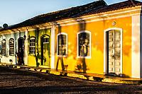Casas no centro histórico do Ribeirão da Ilha. Florianópolis, Santa Catarina, Brasil. / Houses at the historic center of Ribeirao da Ilha. Florianopolis, Santa Catarina, Brazil.