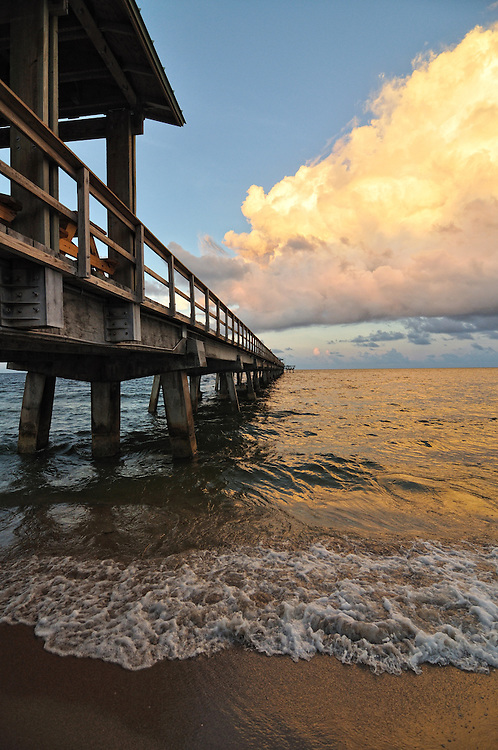 The pier at Lauderdale by the Sea, FL.