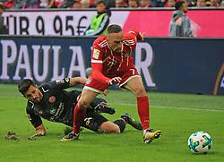 20170916, 1.BL. FCB vs Mainz 05, 1.Bundesliga, Allianz Arena Muenchen, Fussball, Sport, im Bild:...Giulio Donati (Mainz 05) vs Franck Ribery (FCB)..*Copyright by:  Philippe Ruiz..Postbank Muenchen.IBAN: DE91 7001 0080 0622 5428 08..Oberbrunner Strasse 2.81475 MŸnchen, .Tel: 089 745 82 22, .Mobil: 0177 29 39 408..( MAIL:  philippe_ruiz@gmx.de ) ..Homepage: www.sportpressefoto-ruiz.de. (Credit Image: © Philippe Ruiz/Xinhua via ZUMA Wire)