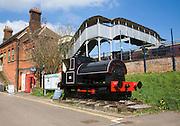 East Anglian railway museum, Chapell, Essex, England