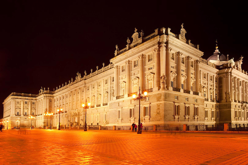 Palacio Real (Royal Palace), Plaza de Oriente, Madrid, Spain