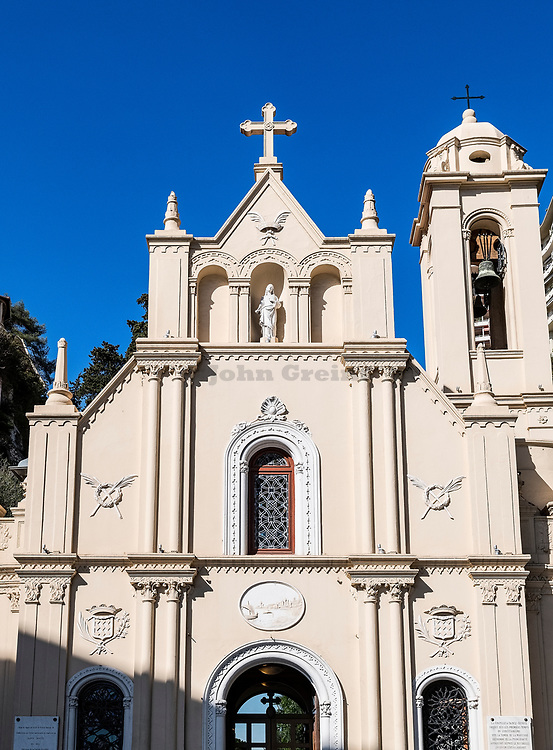 Sainte- Dévote church, Monaco