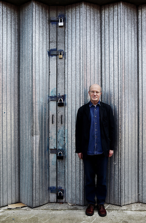 Iain Sinclair (born 11 June 1943 in Cardiff, Wales) is a British writer and film maker. Much of his work is rooted in London, most recently within the influences of psychogeography.<br /> Sinclair was for some time perhaps best known for the novel Downriver (1991), which won the James Tait Black Memorial Prize and the 1992 Encore Award. It envisages the UK under the rule of the Widow, a grotesque version of Margaret Thatcher as viewed by her harshest critics, who supposedly establishes a one party state in a fifth term. The volume of essays Lights Out for the Territory gained Sinclair a wider readership by treating the material of his novels in non-fiction form. His essay 'Sorry Meniscus' (1999) ridicules the Millennium Dome. In 1997, he collaborated with Chris Petit, sculptor Steve Dilworth, and others to make The Falconer, a 56 minute semi-fictional 'documentary' film set in London and the Outer Hebrides about the British underground filmmaker Peter Whitehead. <br /> One of his most recent works and part of a series focused around London is the non-fiction London Orbital; the hard cover edition was published in 2002, along with a documentary film of the same name and subject. It describes a series of trips he took tracing the M25, London's outer-ring motorway, on foot. Sinclair followed this with Edge of the Orison, a psychogeographical reconstruction of the poet John Clare's walk from Dr Matthew Allen's private lunatic asylum, at Fairmead House, High Beach, in the centre of Epping Forest in Essex, to his home in Helpston, near Peterborough. Sinclair also writes about Claybury Asylum, another psychiatric hospital in Essex, in Rodinsky's Room, a collaboration with the artist Rachel Lichtenstein.<br /> Much of Sinclair's recent work consists of an ambitious and elaborate literary recuperation of the so-called occultist psychogeography of London.<br /> In 2008 he wrote the introduction to Wide Boys Never Work the London Books reissue of Robert Westerby's classic Lond
