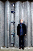 The author, Iain Sinclair