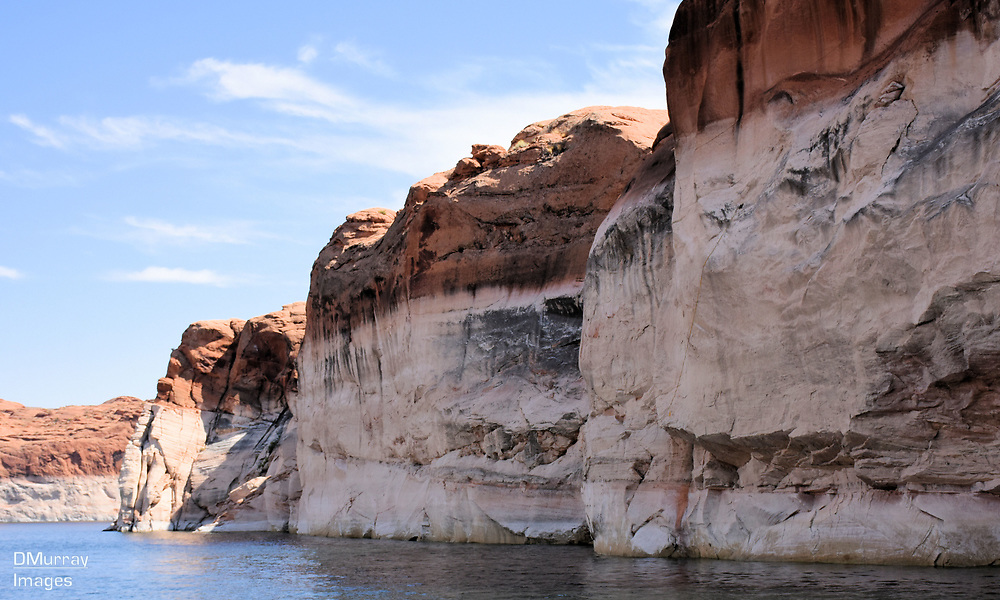 Bleached Sandstone, Lake Powell, Utah - Arizona, USA