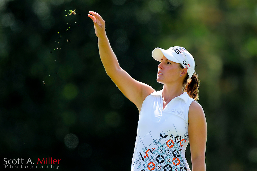 Melissa Eaton during the first round of the Symetra Tour Championship at LPGA International on Sept. 26, 2013 in Daytona Beach, Florida. <br /> <br /> <br /> ©2013 Scott A. Miller