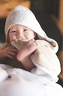 Child's portraiture shot at client's house.
