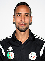 Confederation of African Football - World Cup Fifa Russia 2018 Qualifier / <br /> Algeria National Team - Preview Set - <br /> Walid Mesloub