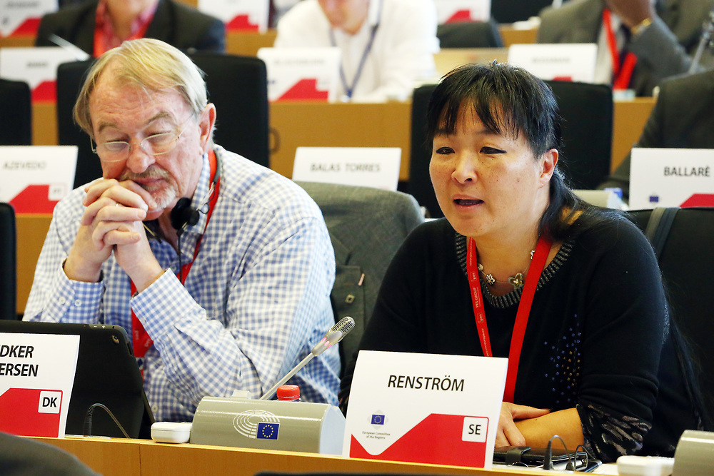 12 May 2017, 123rd Plenary Session of the European Committee of the Regions <br /> Belgium - Brussels - May 2017 <br /> <br /> Mrs RENSTR&Ouml;M Yoomi, Member of Ovan&aring;ker Municipal Council, Sweden<br /> <br /> &copy; European Union / Patrick Mascart