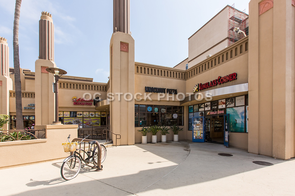 Ocean Place Shopping Mall in Oceanside California