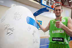 Bojan Radulovic during Open day of Slovenian U20 National basketball team before the European Chmpionship in Slovenia, on July 9, 2012 in Domzale, Slovenia.  (Photo by Vid Ponikvar / Sportida.com)