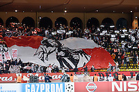Supporters Monaco - 09.12.2014 - Monaco / Zenith St Petersbourg - Champions League<br /> Photo : Serge Haouzi / Icon Sport