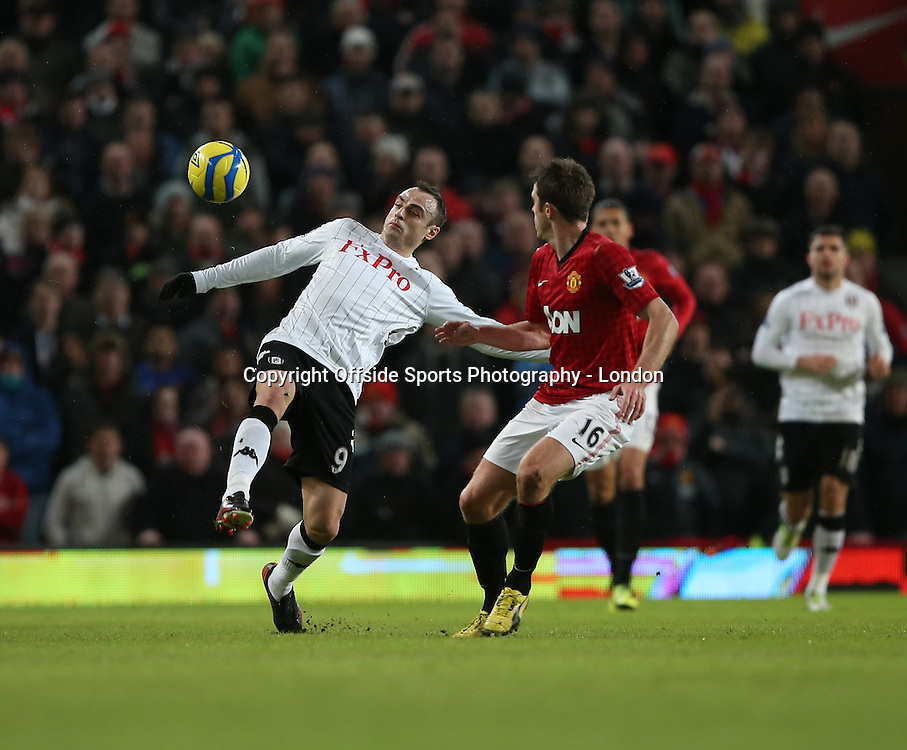 26 January 2013 FA Cup Manchester United v Fulham.<br /> Dimitar Berbatov.<br /> Photo: Mark Leech.