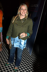 MISS LAURA PARKER BOWLES daughter of HRH the Duchess of Cornwall at a party to promote the Kiss It Better campaign for the Great Ormond Street Hospital in association with Stila and Space.NK held at Frankie's, Yeoman's Row, London on 31st May 2005.<br /><br />NON EXCLUSIVE - WORLD RIGHTS