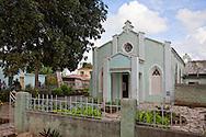 Church in Buenaventura, Holguin, Cuba.