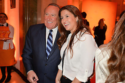 ANDREW NEIL and SUSAN NILSSON at the Veuve Clicquot Business Woman Awards held at Claridge's, Brook Street, London on 11th May 2015.