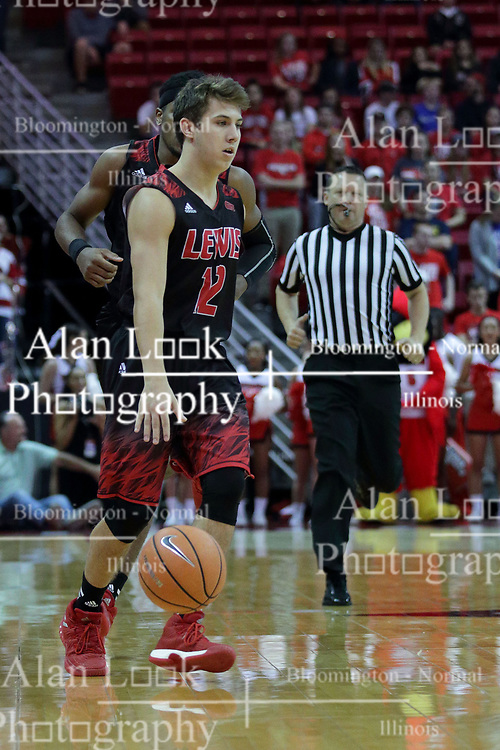 05 November 2017:  Adam Pischke during aLewis College Flyers and Illinois State Redbirds in Redbird Arena, Normal IL