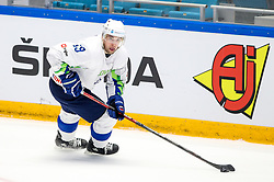 Ziga Pance of Slovenia during ice hockey match between South Korea and Slovenia at IIHF World Championship DIV. I Group A Kazakhstan 2019, on April 30, 2019 in Barys Arena, Nur-Sultan, Kazakhstan. Photo by Matic Klansek Velej / Sportida
