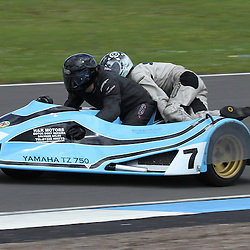 Tony Wheatley and Neil Wheatley in action at the the annual visit to Knockhill of the North East MCRC Championship round. STEPHEN LAWSON|STOCKPIX