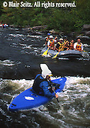 Lehigh River, Lehigh Gorge State Park, Carbon and Luzerne Co., PA, Kayaks