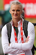 Women's Pault Vaulter Katie Nageotte (USA) during the Muller Grand Prix at Alexander Stadium, Birmingham, United Kingdom on 18 August 2018. Picture by Ian Stephen.