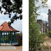 Planting and bandstand restoration, Horniman Museum and Gardens, Forest Hill