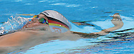 Germany's Janine Pietsch swims in the final heat of the women's 50m Backstroke at the FINA World Championships in Montreal, Canada Wednesday 27 July, 2005.