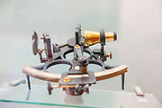 Sextant on display in the Old Chemistry laboratory (Now a museum) at the university of Coimbra, Coimbra, Portugal