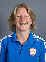 EINDHOVEN - Assistent bondscoach JANNEKE SCHOPMAN van Jong Oranje Dames, dat het WK in Duitsland zal spelen. COPYRIGHT KOEN SUYK