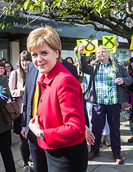 Nicola Sturgeon joins the SNP&rsquo;s candidate for East Lothian George Kerevan on the campaign trail in Musselburgh tomorrow. <br /> <br /> The First Minister commented that a vote for the SNP is vital to ensure that Scotland&rsquo;s jobs and industries are protected. An SNP victory in the General Election will give the party a mandate to demand that the Scottish Government is at the top table in Brexit negotiations, standing up for the interests of businesses and for workers rights.<br /> <br /> Pictured: Nicola Sturgeon