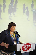 07/07/2014  Repro free County Galway Mayor Cllr Mary Hoade at the launch of the Galway Races Summer Festival at the Radisson Blu Hotel Galway. Photo:Andrew Downes