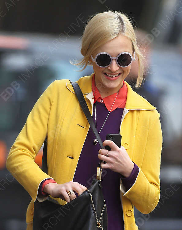 21.MARCH.2012. LONDON<br /> <br /> FEARNE COTTON ARRIVING FOR WORK AT THE RADIO 1 STUDIOS IN LONDON<br /> <br /> BYLINE: EDBIMAGEARCHIVE.COM<br /> <br /> *THIS IMAGE IS STRICTLY FOR UK NEWSPAPERS AND MAGAZINES ONLY*<br /> *FOR WORLD WIDE SALES AND WEB USE PLEASE CONTACT EDBIMAGEARCHIVE - 0208 954 5968*