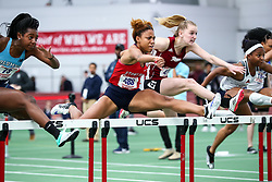ECAC/IC4A Track and Field Indoor Championships<br /> 60m hurdles, Stony Brook