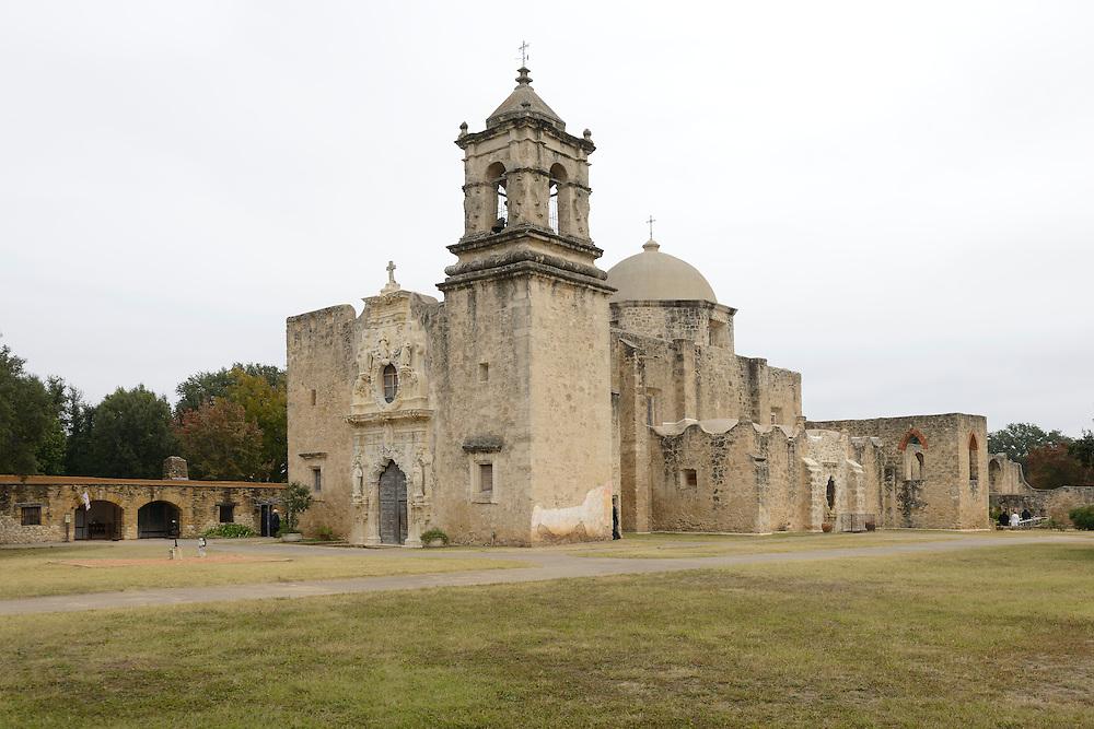 Mission San José y San Miguel de Aguayo is a historic Catholic mission in San Antonio, Texas, USA. near city of San Antonio,,Texas,USA
