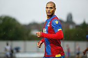 Adlene Guedioura looking on during the Pre-Season Friendly match between Tooting & Mitcham and Crystal Palace at Imperial Fields, Tooting, United Kingdom on 24 July 2015. Photo by Michael Hulf.