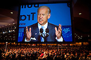 Apr 19,2010 - Washington, District of Columbia USA - .Vice President Joe Biden addresses the Building and Construction Trades Department, AFL-CIO's 2010 National Legislative Conference at the Washington Hilton on Monday.(Credit Image: © Pete Marovich/ZUMA Press)