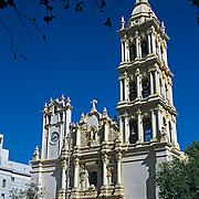 Monterrey cathedral. Nuevo Leon, Mexico.