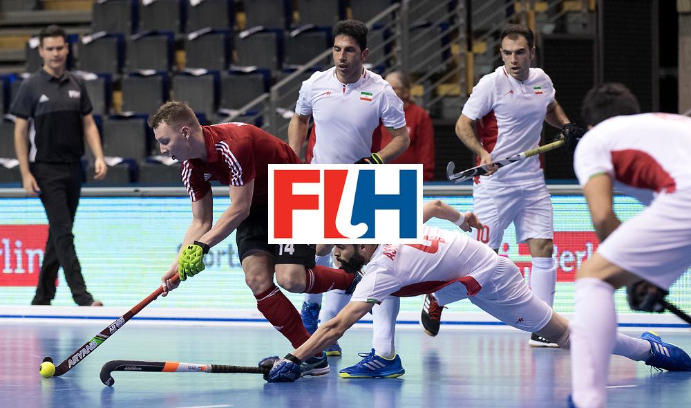 BERLIN - Indoor Hockey World Cup<br /> Men: Iran - Russia<br /> foto: KHAIRULLIN Marat.<br /> WORLDSPORTPICS COPYRIGHT FRANK UIJLENBROEK