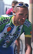 Andalucia SPAIN. 2002 Tour of Spain, Carlos Garcia ESP. Team Kelme - Costa Blanca ESP.[Peter Spurrier./Intersport Images]