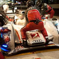 #2 Audi R18 e-tron quattro, Audi Sport Team Joest, Drivers: Capello/Kritensen/Mcnish, Le Mans 24H, 2012