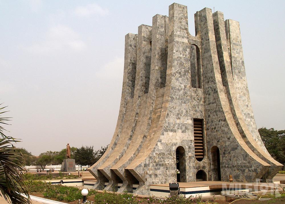 Kwame Nkrumah Memorial Park in Accra, Ghana