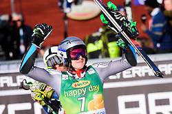 March 9, 2019 - Kranjska Gora, Kranjska Gora, Slovenia - Henrik Kristoffersen of Norway celebrating his victory at the Audi FIS Ski World Cup Vitranc on March 8, 2019 in Kranjska Gora, Slovenia. (Credit Image: © Rok Rakun/Pacific Press via ZUMA Wire)