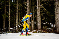 Emma Nilsson (SWE) during Women 15km Individual at day 5 of IBU Biathlon World Cup 2018/19 Pokljuka, on December 6, 2018 in Rudno polje, Pokljuka, Pokljuka, Slovenia. Photo by Ziga Zupan / Sportida