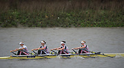 Hammersmith, Greater Game, London, UK. LEANDER IX<br /> W Elite 4x. 2015 Fours Head of the River Race, River Thames [ opposite Chiswick Eyot]  Saturday  07/11/2015 <br /> <br /> [Mandatory Credit: Peter SPURRIER: Intersport Images]