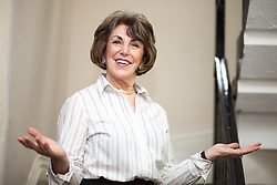 © Licensed to London News Pictures . 15/11/2012 . Manchester , UK . Former Minister EDWINA CURRIE at a Jail and Bail fundraising event for the British Red Cross . The event , which took place at the Manchester Police Museum , sees high profile lawyers answering mock charges before being taken to the cells and having to raise £999 bail (donated to the Red Cross) to secure their release . Photo credit : Joel Goodman/LNP