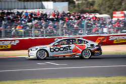 October 7, 2018 - Bathurst, NSW, U.S. - BATHURST, NSW - OCTOBER 07: Scott Pye / Warren Luff in the Mobil 1 Boost Mobile Racing Holden Commodore around the last corner at the Supercheap Auto Bathurst 1000 V8 Supercar Race at Mount Panorama Circuit in Bathurst, Australia. (Photo by Speed Media/Icon Sportswire) (Credit Image: © Speed Media/Icon SMI via ZUMA Press)