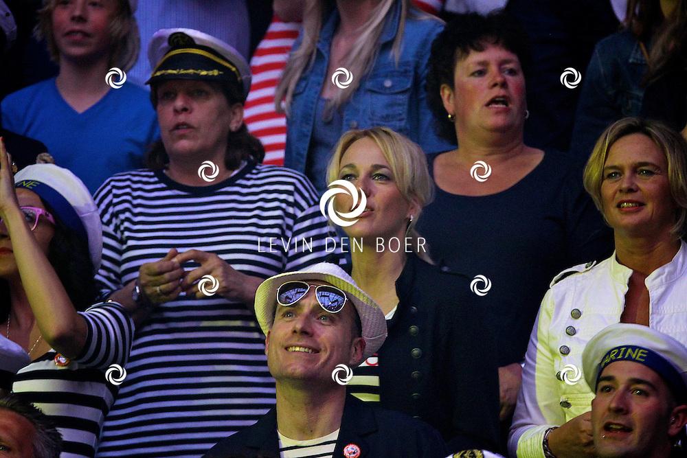 AMSTERDAM - In de ArenA is weer de achtste editie van de Toppers in Concert. Met op de foto in het publiek Marianne Timmer. FOTO LEVIN DEN BOER - PERSFOTO.NU