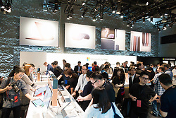May 24, 2017 - Shanghai, Shanghai, China - Shanghai,CHINA-May 24 2017: (EDITORIAL USE ONLY. CHINA OUT) The releasing conference of Microsoft Surface is held at Waterhouse in Shanghai, May 24th, 2017. (Credit Image: © SIPA Asia via ZUMA Wire)